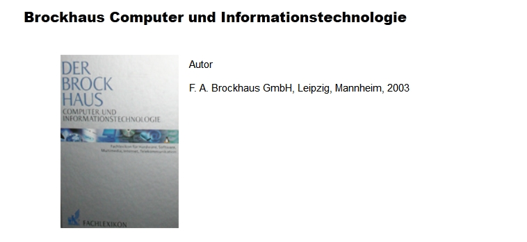 Brockhaus Informationstechnologie